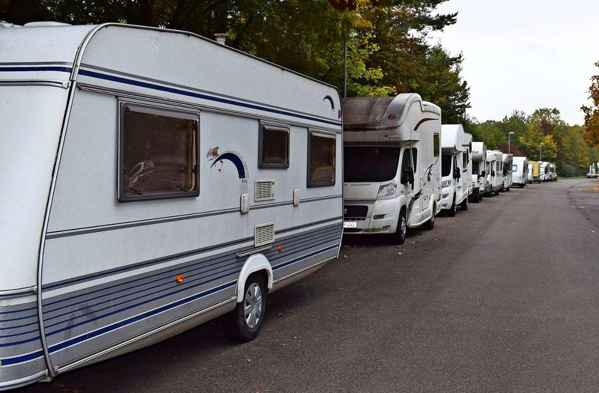 Parken: Im Alltag sind Wohnmobile oft im Weg - Degerloch