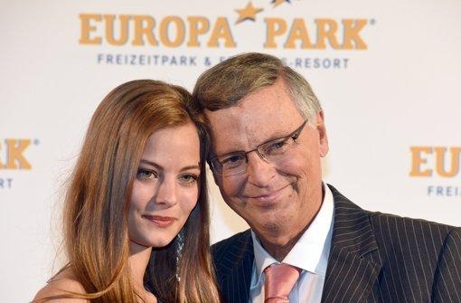 Jurymitglied Wolfgang Bosbach mit Tochter Viktoria Foto: dpa