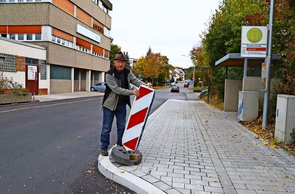 Nahverkehr Fellbach Ein Stadtrat Stiftet Sogar Eine Warnbake Rems