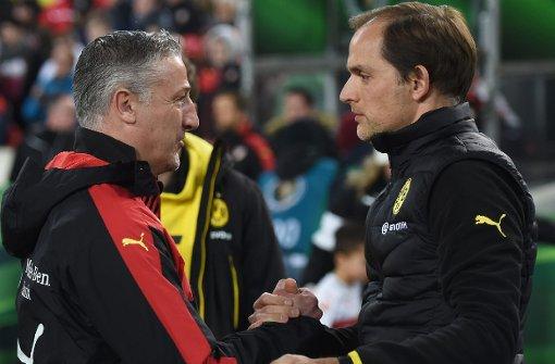 VfB - Dortmund: Es steht 1:2