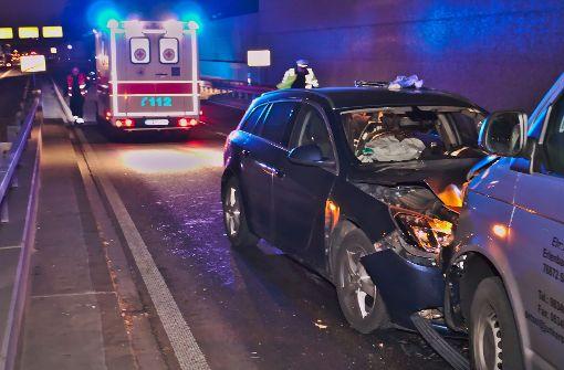 Falschfahrer schwer verletzt