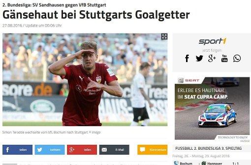 """Stuttgart rettet drei Punkte"""