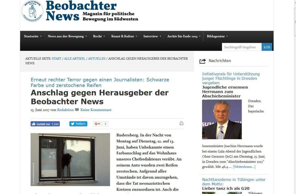 beobachter news