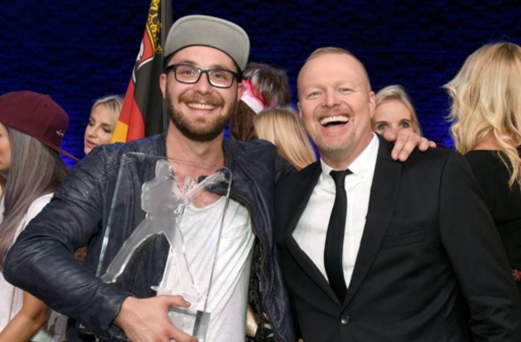 Bundesvision Song Contest Mark Forster Gewinnt Mit Bauch Und Kopf