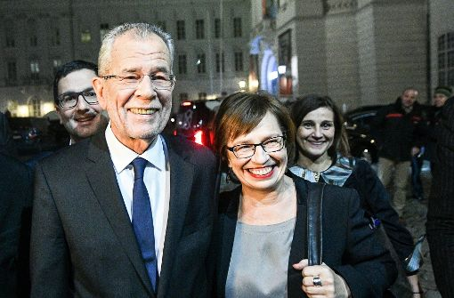 Van der Bellen wird neuer Bundespräsident