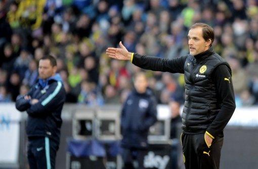 Dortmunds Trainer Thomas Tuchel will mit der stärksten Mannschaft auflaufen Foto: dpa