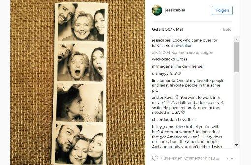 Timberlake und Biel posten Schnappschüsse