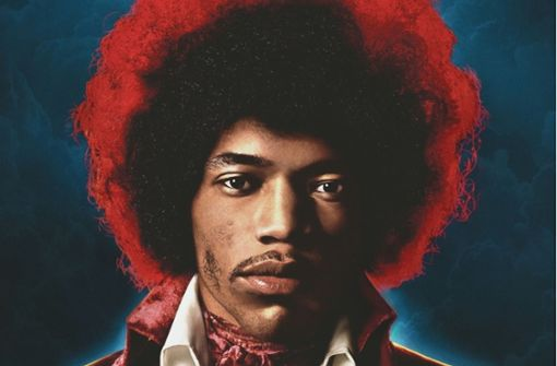 "Jimi Hendrix auf dem Cover des soeben erschienen Albums ""Both Sides of the Sky"" Foto: Columbia/Sony Music"