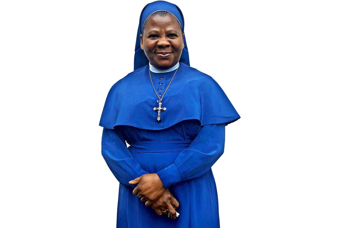 Eine nigerianische Nonne in Stuttgart: Die Rose von Amapu