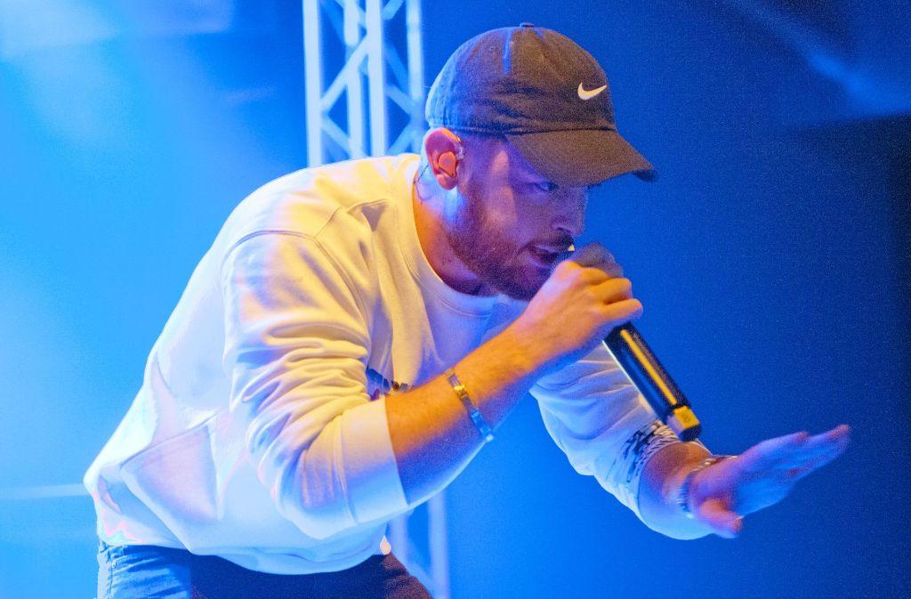 Rapper Bausa Im Wizemann Hiphop Party Mit Goldigem Finale