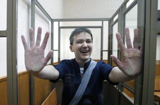 Russland lässt Sawtschenko frei