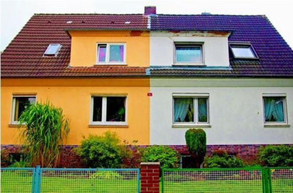 Fabulous Qual der Wahl: Fassadenfarbe gut überlegen - News - Stuttgarter AN01