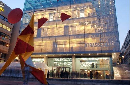 Das Kunstmuseum am Stuttgarter Schlossplatz. Foto: dpa
