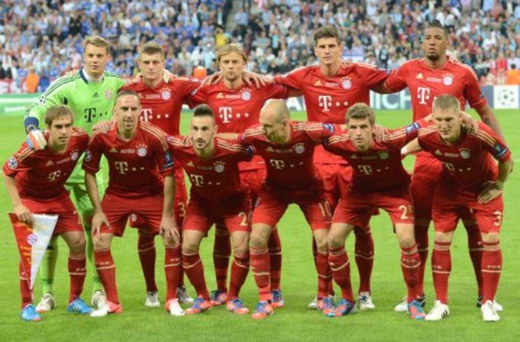 Finale gegen Chelsea: Die Spieler des FC Bayern in der