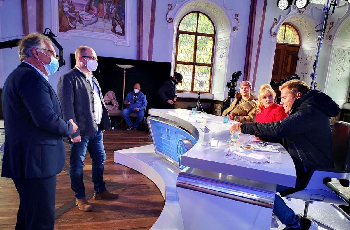 Neue Staffel Von Dsds Dieter Bohlen Dreht Im Landle Baden Wurttemberg Stuttgarter Nachrichten