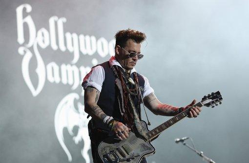 Johnny Depp rockt Herborn