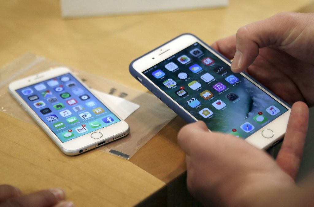 Fremdbatterie erkennung bei neuen iphone von apple