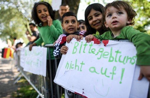 Deutsche besonders offen für Flüchtlinge