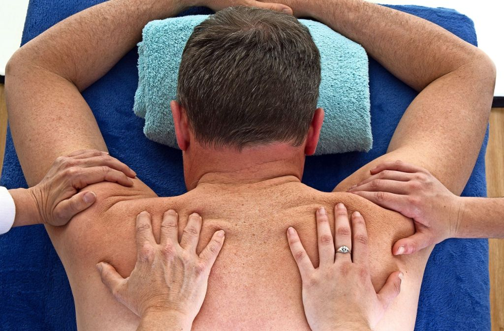 Sex in der Spa-Massage