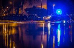 Wasserrohrbruch in Stuttgart-Untertürkheim: Die Augsburger Straße wurde unterspült und hob sich, auch die Schlotterbeckstraße war betroffen.  Foto: www.7aktuell.de/Florian Gerlach