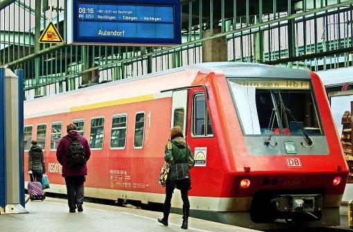 Zugausfälle: Bahn muss wöchentlich zum Rapport