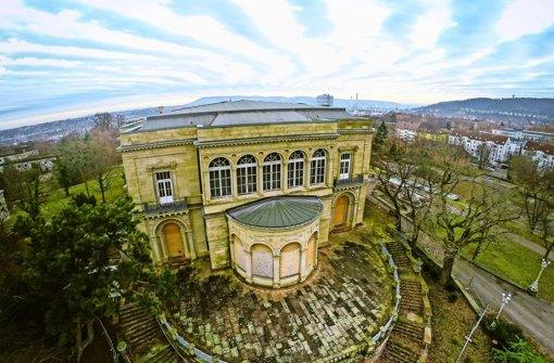 Der Park um die Villa Berg soll besser zugänglich werden. Foto: 7aktuell.de/Dyhringer
