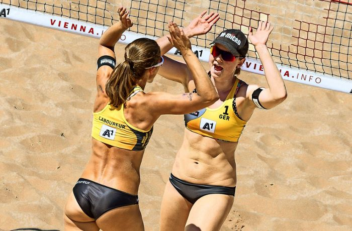 Drei Teams starten in die Saison: Beachvolleyball made in Stuttgart