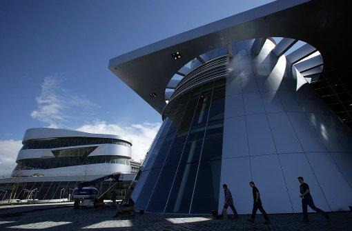 Stadt erlaubt Daimler provisorischen Parkplatz