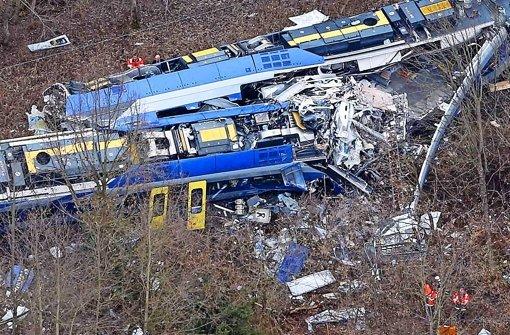 Frontalaufprall: Die Höchstgeschwindigkeit auf der Strecke liegt laut Bundesverkehrsminister bei 100  Kilometern pro Stunde Foto: AP
