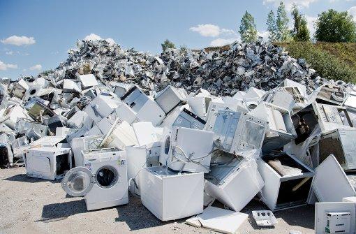 Einzelhandel: Elektroschrott für uns kein Problem