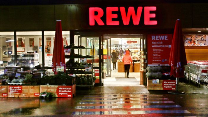 Randale in Rewe-Supermarkt