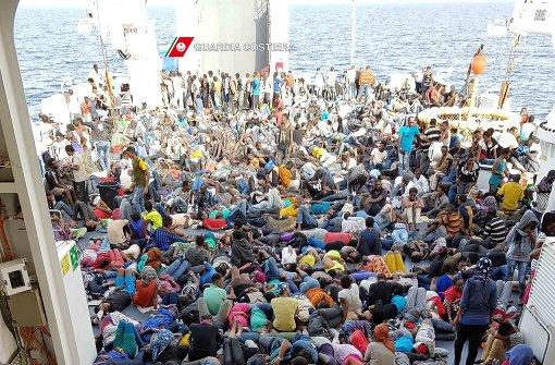 1400 Flüchtlinge gerettet