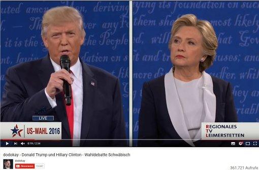 Trump vs. Clinton oder der Respekt vor dem Joghurt