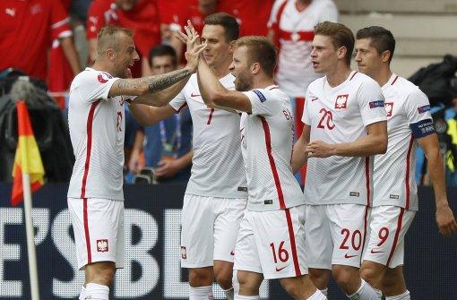 Polen zieht erstmals in ein EM-Viertelfinale ein