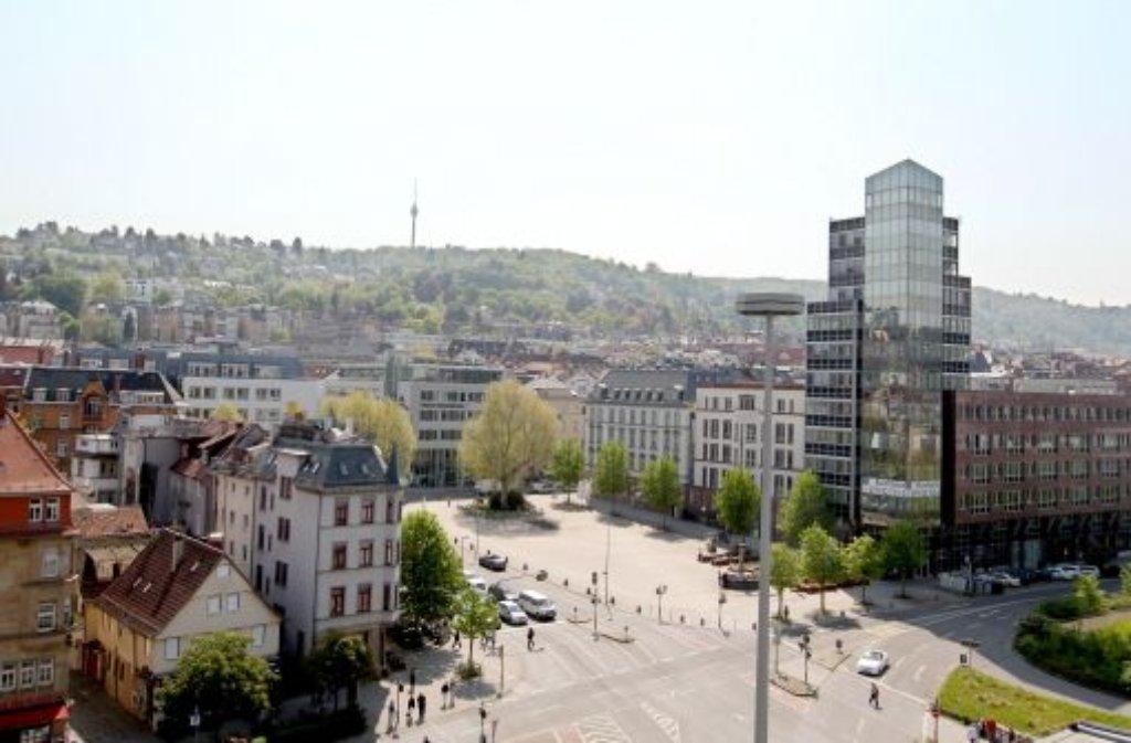 Platz 9 Der Wilhelmsplatz In Der Stuttgarter Innenstadt Ist