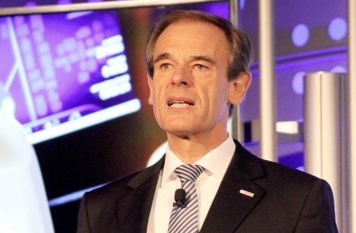 Bosch-Chef Volkmar Denner Foto: dpa