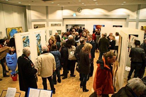 """Auf ein volles Gemeindehaus hoffen die Organisatoren auch bei der dritten Auflage von """"Kunst im Ort"""" in Gammelshausen. Foto: Veranstalter"""
