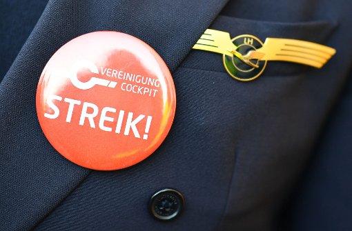 Streik: Lufthansa sagt heute 830 Flüge ab