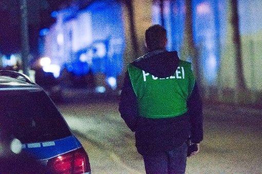 Die Polizei war mit einem Großaufgebot vor Ort. Foto: www.7aktuell.de | Oskar Eyb