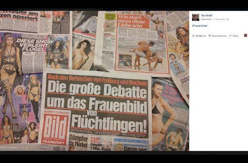 """Facebook, das Magazin """"Titanic"""" und nackte Brüste"""