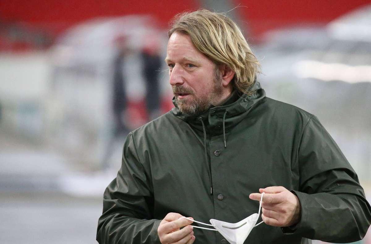 Sven Mislintat vom VfB Stuttgart - Sportdirektor erwägt Verkäufe von Topstars im Sommer - Stuttgarter Nachrichten