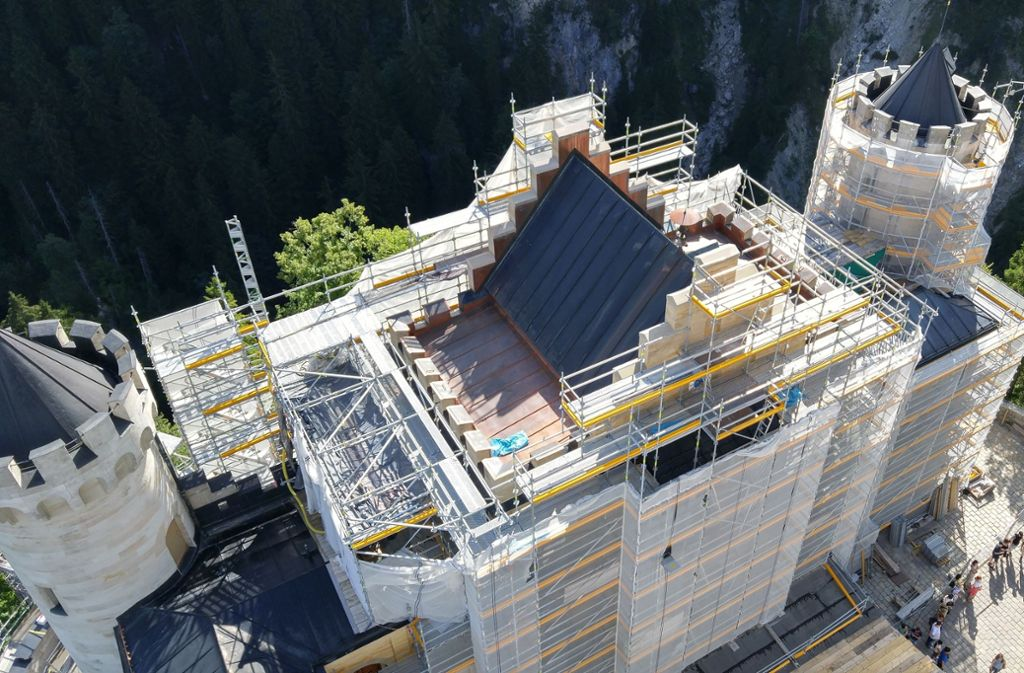 Sehenswurdigkeit In Bayern Besuch Auf Der Baustelle Neuschwanstein Panorama Stuttgarter Nachrichten