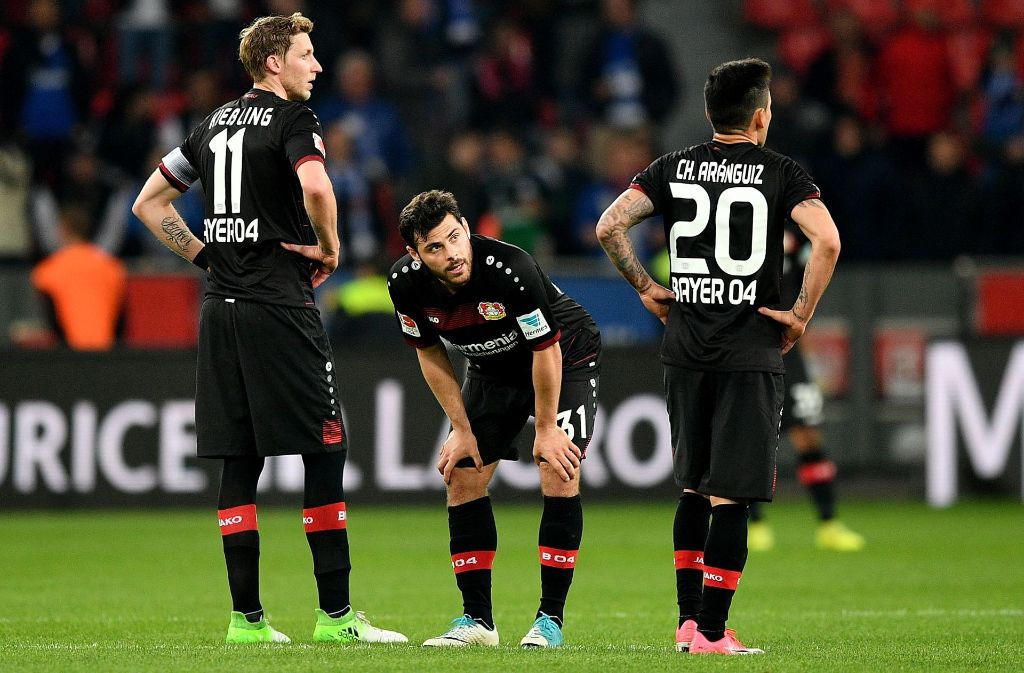 Leverkusen Schalke 2017