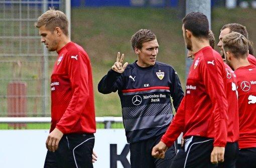 Ginczek wieder im Training dabei