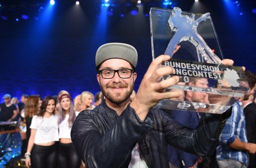 Mark Forster hat den Bundesvision Song Contest gewonnen Foto: dpa
