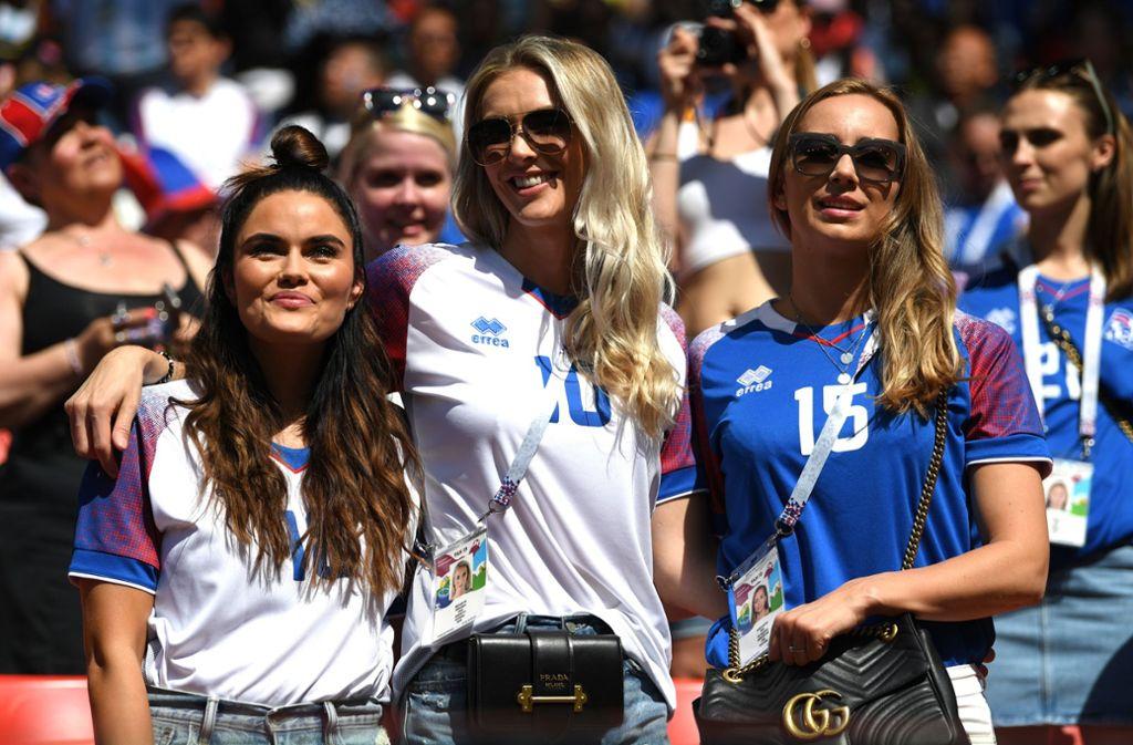 Wm 2018 In Russland Huh Islands Fans Erobern Moskau