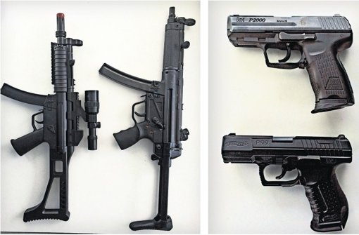 pistolen spielen