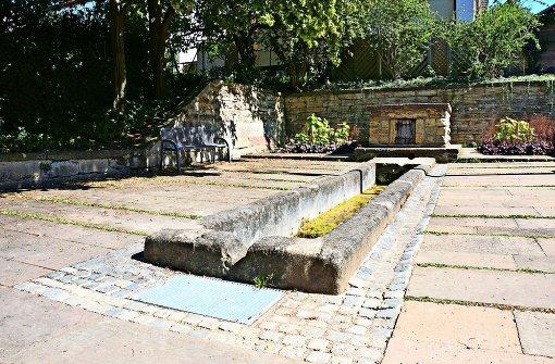 Die Quelle des Steinbrunnens ist versiegt