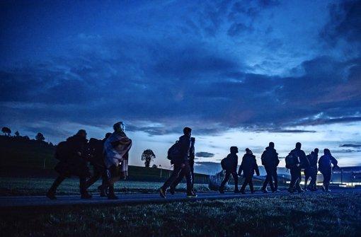 Der Flüchtlingszustrom nach Deutschland war im Januar geringer als noch im Dezember. Foto: dpa