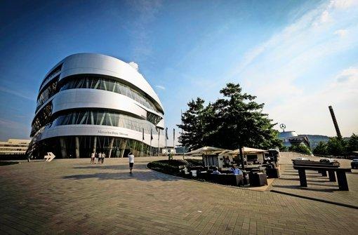 Vom 8. bis zum 13. März dürfen BMW-Mitarbeiter kostenlos ins Mercedes-Benz-Museum. Foto: Lichtgut/Leif Piechowski